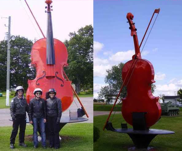 Now That's A Big Fiddle