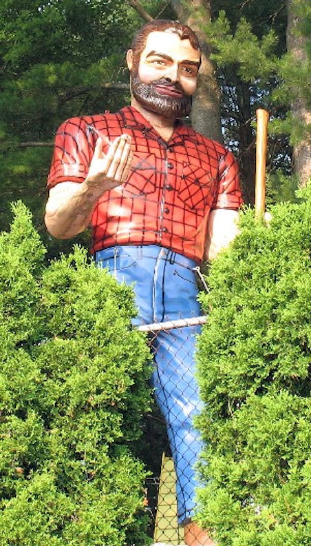 Magic Forest Paul Bunyan