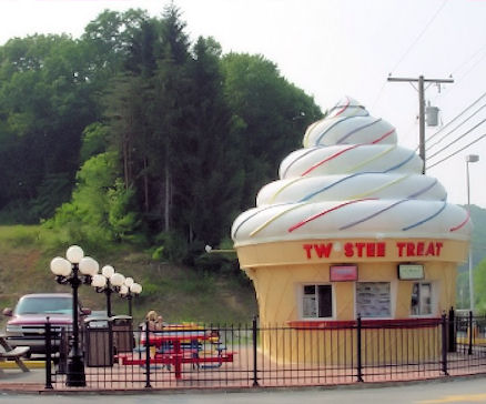 Giant Ice Cream Cone