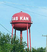 Funny Water Tower In Gas Kansas