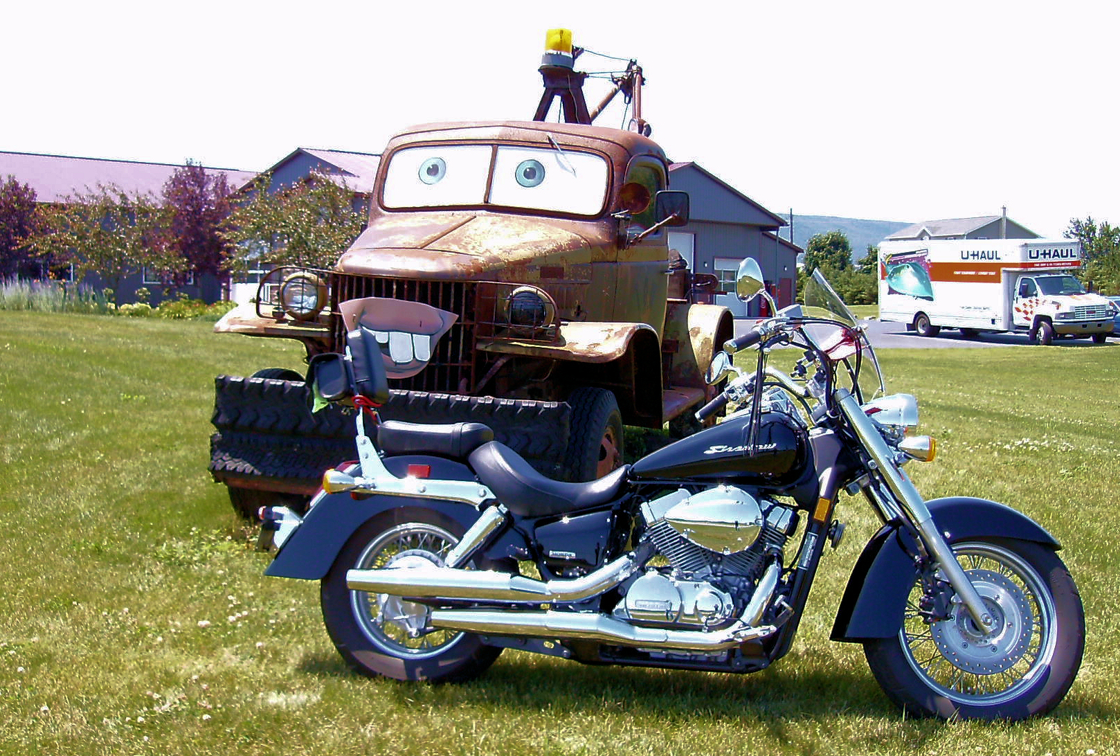 coolest tow mater from cars cake ideas pictures coolest tow mater from ...