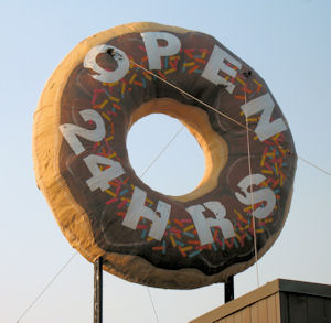 A Donut Fit For A Giant