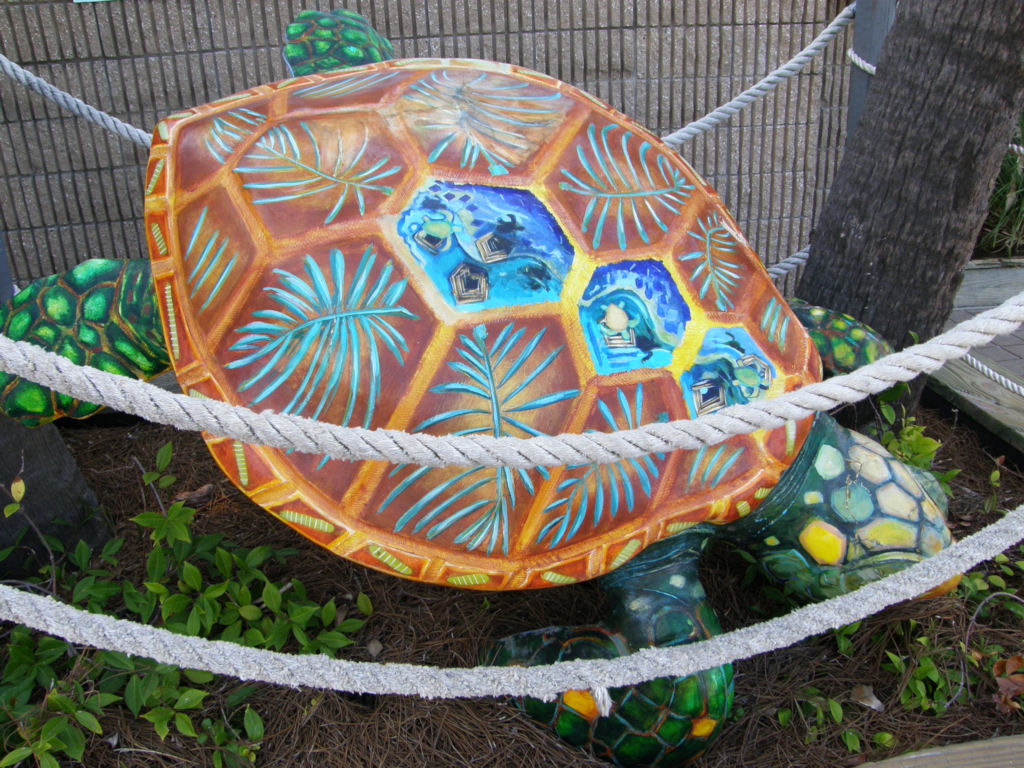 Tybee Island Turtle Sculpture