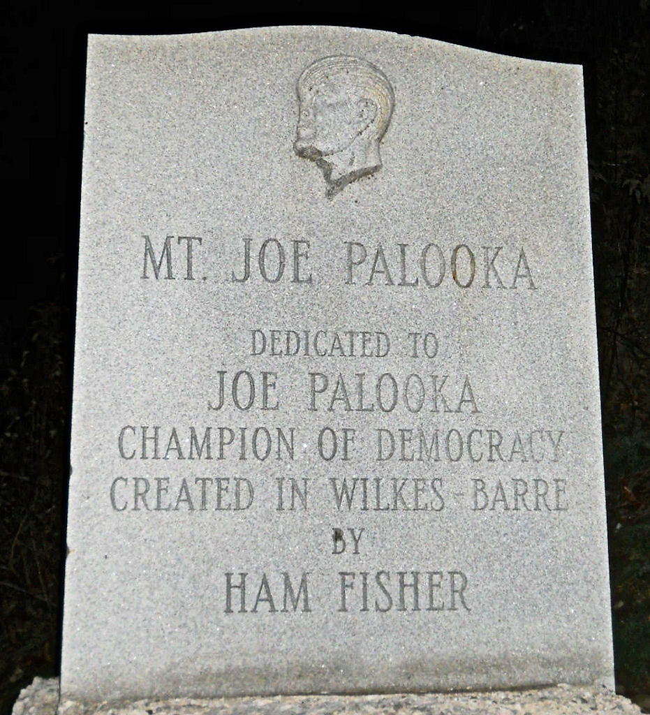 Joe Palooka Monument