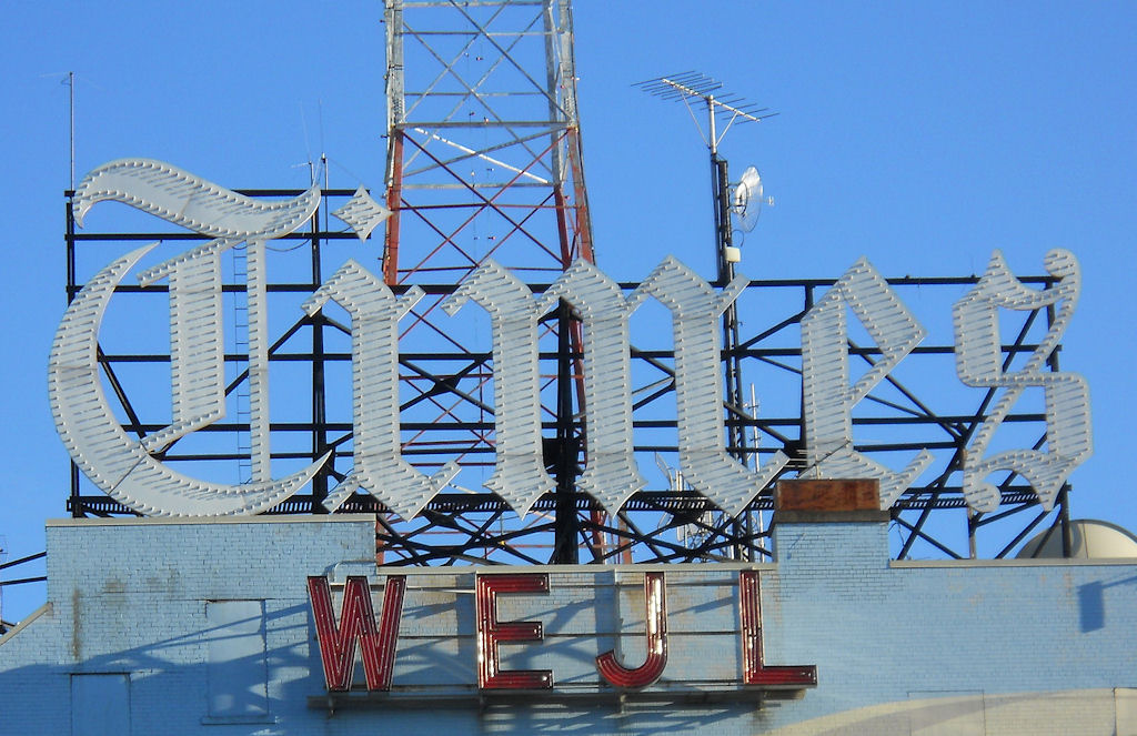 Scranton Times Sign