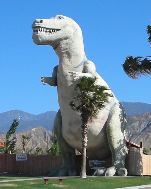 The Cabazon Dinosaurs