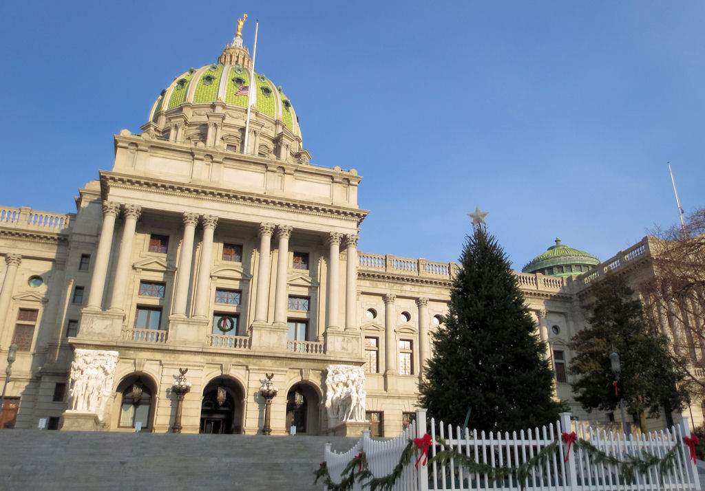 Awesome picture of christmas tree harrisburg pa fabulous for Harrisburg christmas craft show