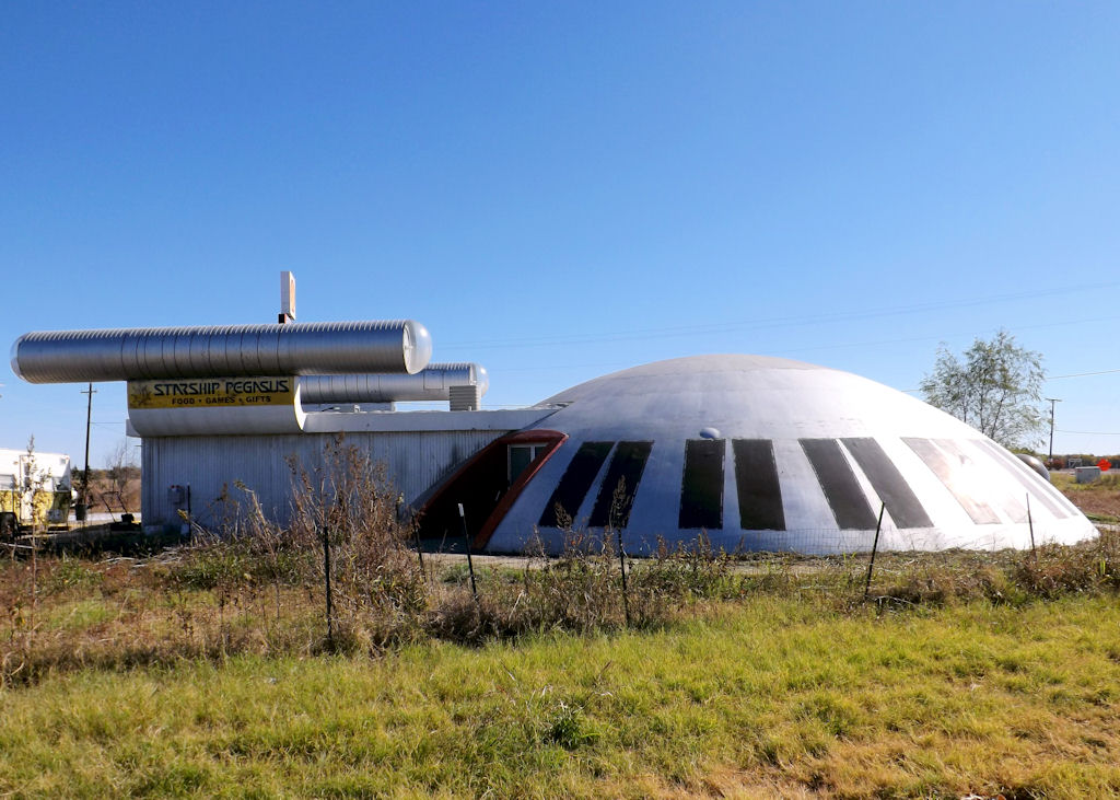 Starship Pegasus in Italy, Texas