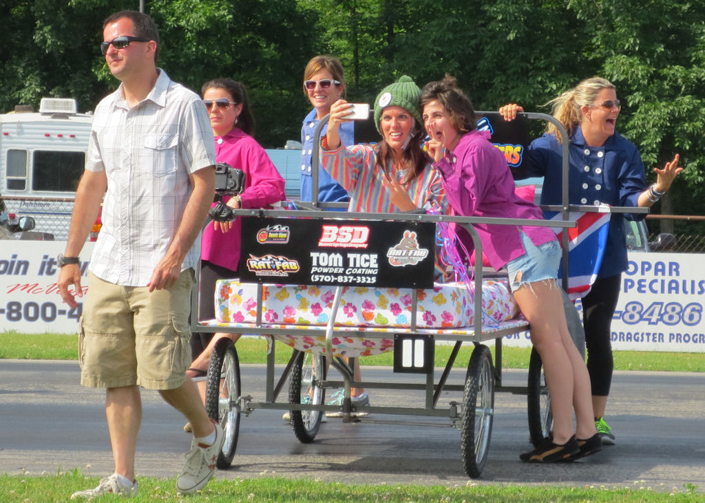 Davy Jones Memorial Bed Race