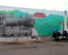 Manassas Train Mural